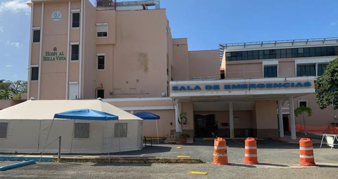 Hospital Bella Vista en Mayagüez se encuentra operando y sin daños en su estructura