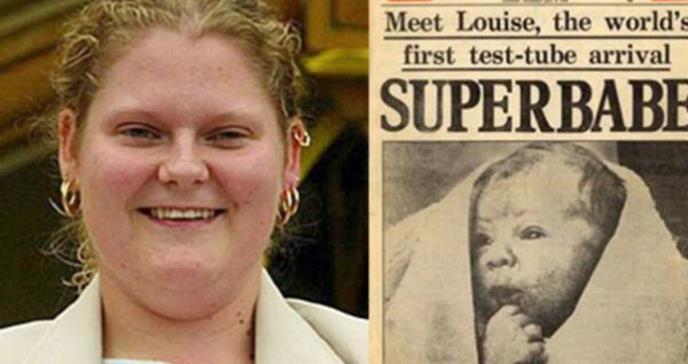 Ya tiene 40 años la primera bebé probeta del mundo