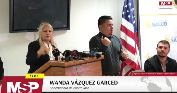 Actualización sobre el coronavirus en Puerto Rico