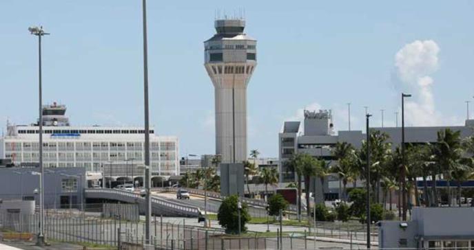 Aeropuerto en Puerto Rico está en vigilancia por coronavirus