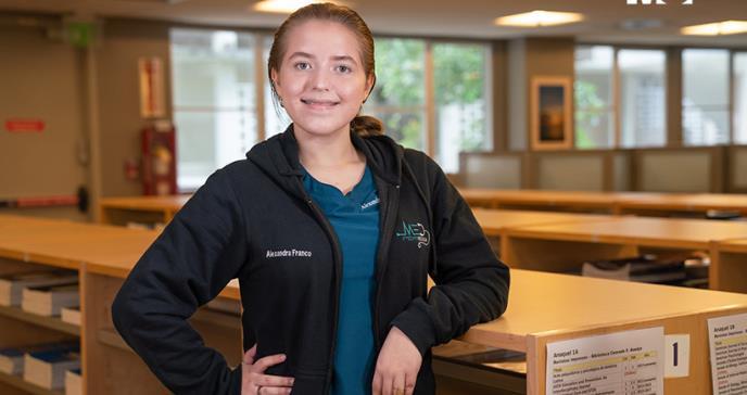 Alexandra Franco: la puertorriqueña más joven en ser admitida en la Escuela de Medicina