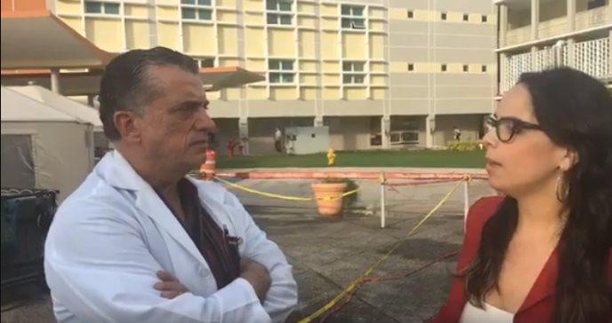En vivo desde  Centro Médico con el Dr. Pablo Rodríguez