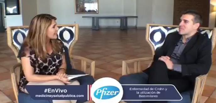 Entrevista con el doctor Ahmed Morales, hablando de la Enfermedad de Crohn