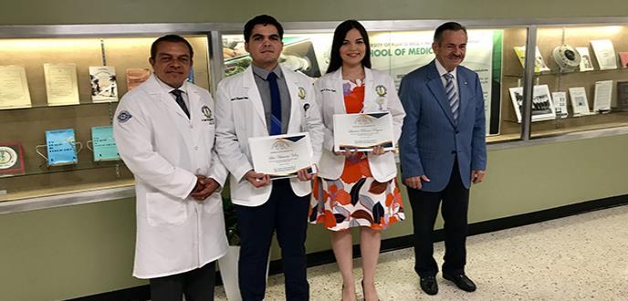 Estudiantes de la Escuela de Medicina de la UPR reciben  prestigiosa beca