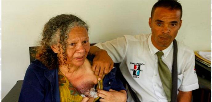 La paciente con cáncer de mama que ha conmovido el mundo