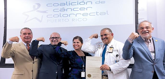 Ofensiva contra el cáncer colorrectal en Puerto Rico