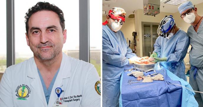 Médicos dividen hígado por primera vez para salvar la vida de dos pacientes