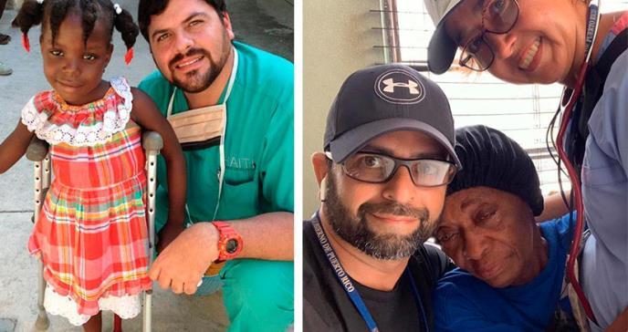 Trabajar por los pacientes más vulnerables: la bandera del Dr. Mellado