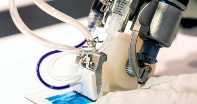 Crean impresora de piel portátil para tratar quemaduras graves