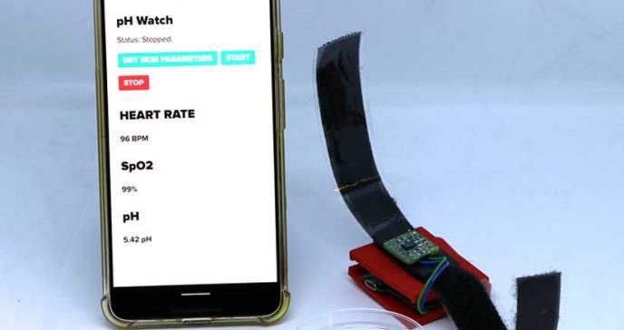 Crean monitor de pH del sudor que informa a los usuarios sobre su estado de salud