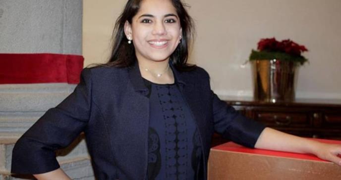 Dafne, la psicóloga más joven del mundo, se adueña de Harvard