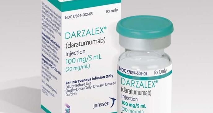 Darzalex, aprobado para el mieloma múltiple no apto para el trasplante autólogo de células madre