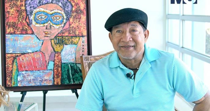 El arte inspira al periodista David Santiago en medio de los estragos de la diabetes y su enfermedad renal