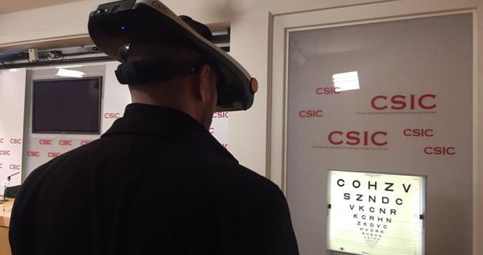 Nuevo simulador permite evaluar mejoría visual antes de una cirugía de ojos