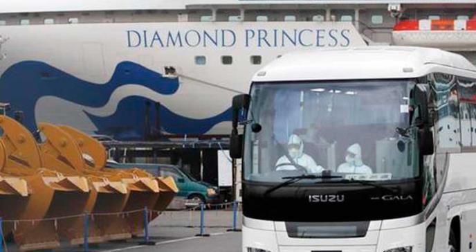 Colombiano dio positivo por coronavirus en crucero Diamond Princess