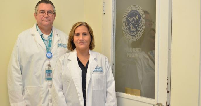 Doctores Green y Orengo: Una pareja dedicada a la salud del País