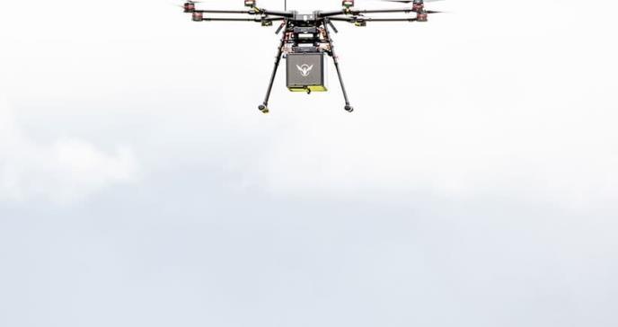 Drones servirán para llevar medicinas en casos de emergencia
