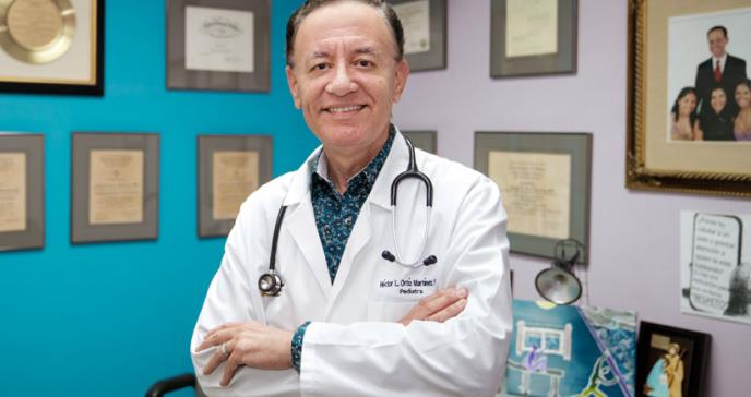 Dr. Héctor Ortíz, un ilustre representante de la pediatría en Puerto Rico