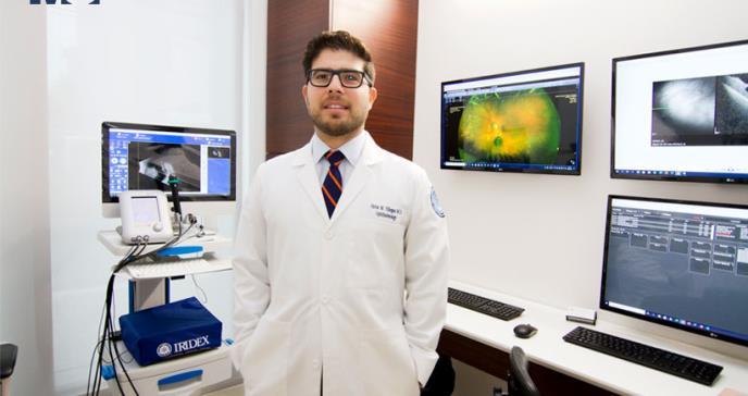 Dr. Víctor Villegas, único oftalmólogo en realizar la braquiterapia ocular en Puerto Rico