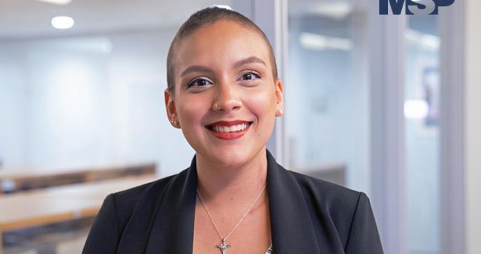 Tatiana Polanco, la estudiante de medicina que también es paciente con cáncer