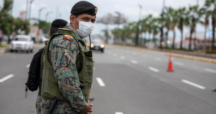 Ecuador entra en estado de excepción por el coronavirus