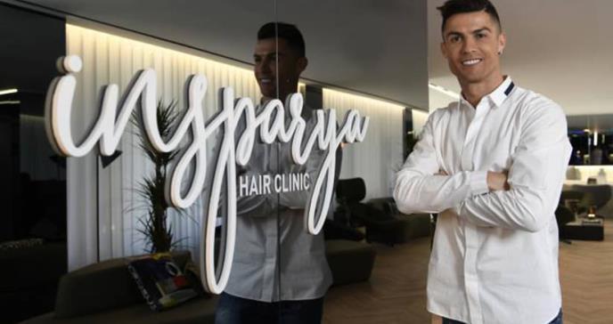 El método de Cristiano Ronaldo para acabar con la alopecia de los españoles