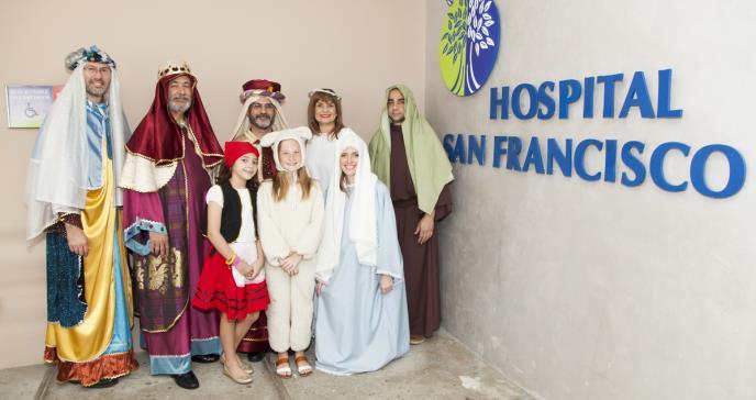 Sociedad Puertorriqueña de Endocrinología y Diabetología: Se visten de Reyes Magos para llevar alegría a sus pacientes