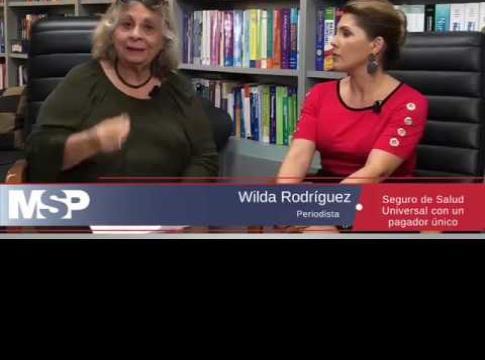 Entrevista con Wilda Rodríguez y el ex secretario de salud Enrique Vázquez Quintana