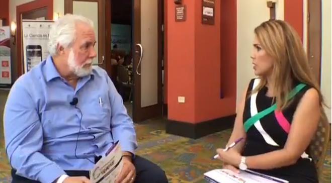Conferencia Hispana de Salud Pública donde hablamos con su fundador, el epidemiólogo, Johnny Rullán