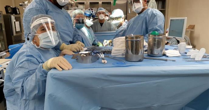 7 trasplantes de órganos y más de 100 pacientes evaluados para recibir trasplante en plena pandemia