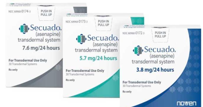 FDA aprueba el primer parche transdérmico para pacientes con esquizofrenia