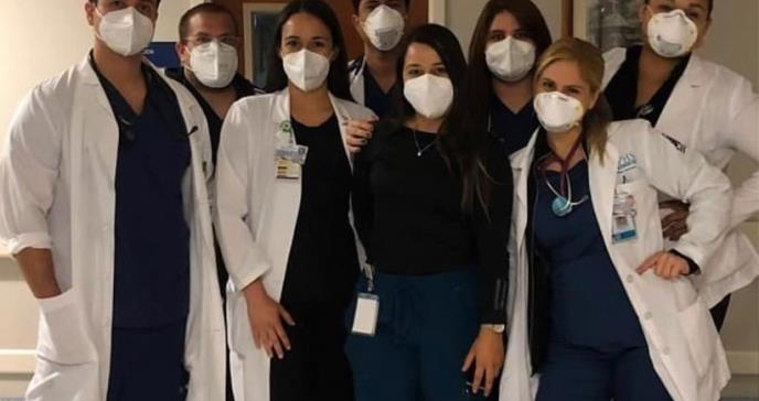 Doctores del Hospital de la Concepción finalizan su internado rotatorio