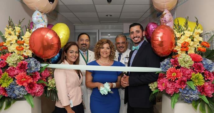 Fundación Hospital Pediátrico reinaugura Unidad de Cuidado Intensivo Neonatal