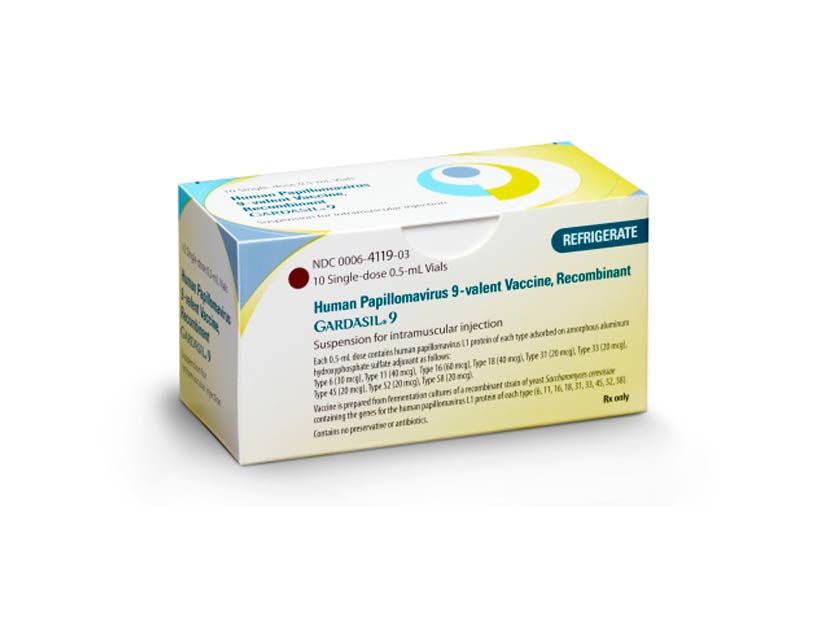 ndc human papillomavirus vaccine papilloma invertito sintomi