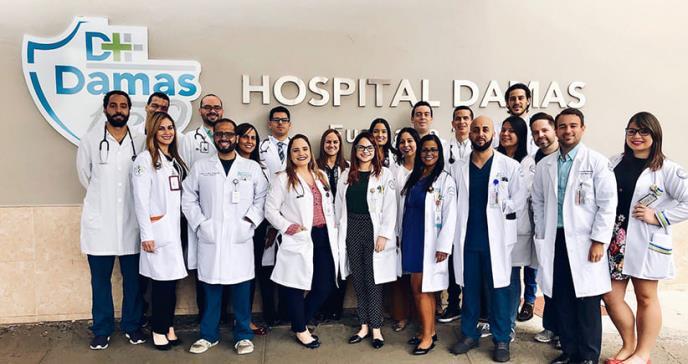 Hospital Damas reestructura su residencia médica