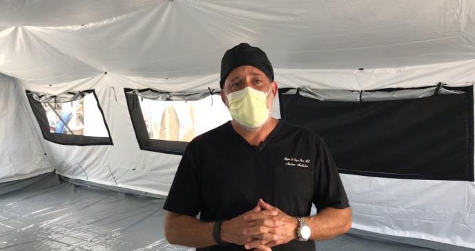 Hospital San Cristóbal en Puerto Rico para la atención de pacientes con COVID-19