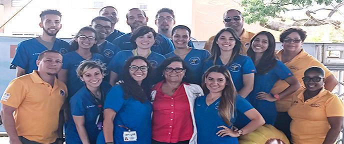 Escuela de Enfermería del RCM atiende la salud del país