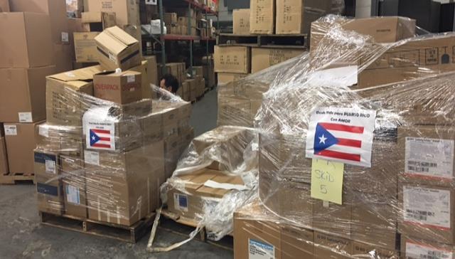 15 mil libras de medicamentos llegarán a Puerto Rico en los próximos días.