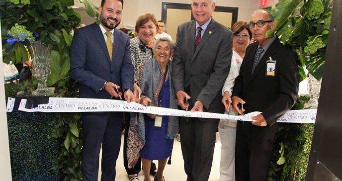 Med Centro inaugura nueva clínica en Villalba