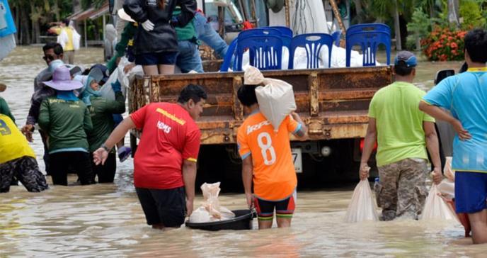 Los desastres naturales contribuyen a la transmisión de enfermedades