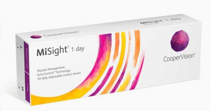 FDA aprueba primeros lentes de contacto para retrasar la progresión de la miopía en niños