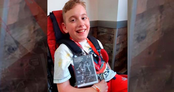 Muere Jaime Estrany, el niño que impulsó una recogida de tapones para combatir la parálisis cerebral