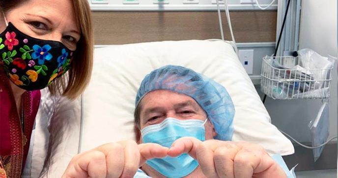 Milagrosa recuperación del doctor Beltrán, que a sus 71 años se contagió de COVID-19