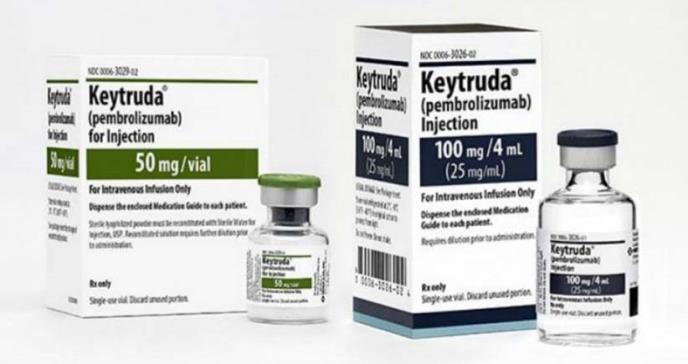 Pembrolizumab: aprobado para el tratamiento del cáncer de pulmón no microcítico metastásico