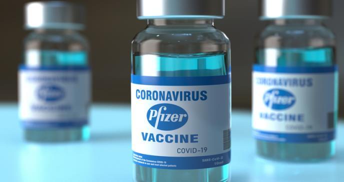Una persona de 90 años se ha  convertido en la primera persona en el mundo en recibir la vacuna Pfizer Covid-19