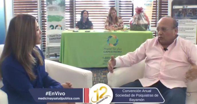 Entrevista con los psiquiatras, Rubén Bravo y William Julio