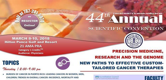 44th Annual Scientific Convention