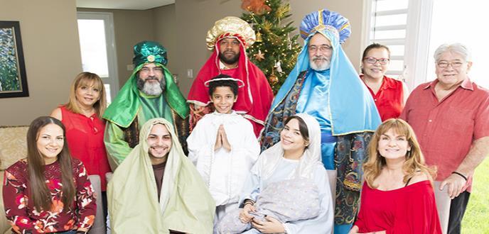 El Puerto Rico Children's Hospital en Bayamón recibe la visita adelantada de los reyes magos