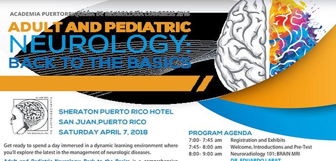 Academia Puertorriqueña de neurología congress 2018