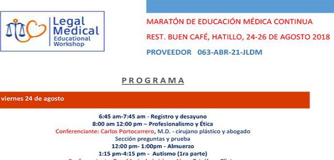 Legal Medical Educational Workshop